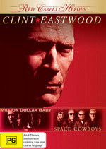 Red Carpet Heroes - Clint Eastwood (Million Dollar Baby / Space Cowboys) (2 Disc Set) on DVD