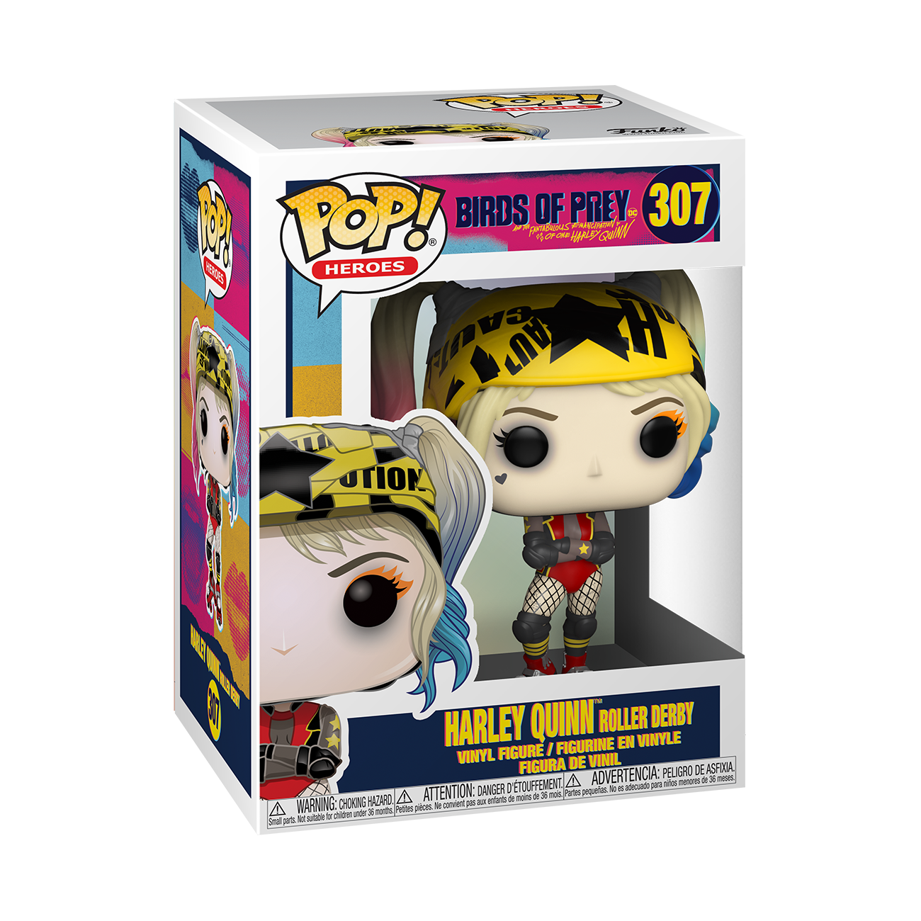 Birds of Prey - Harley (Roller Derby) Pop! Vinyl Figure image