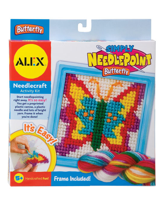 Alex: Simply Needlepoint Butterfly image