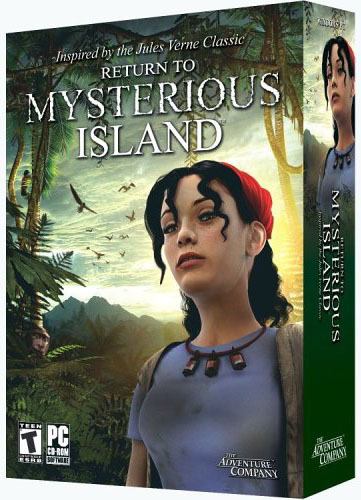 Return to Mysterious Island (Jewel case packaging) for PC Games