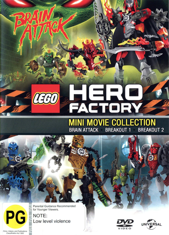 LEGO: Hero Factory on DVD