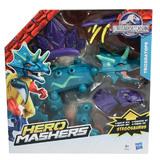 Jurassic World - Hero Mashers Deluxe Figure - Triceratops