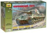 Zvezda: 1/35 Sd.Kfz.182 King Tiger (Henschel Turret) - Model Kit
