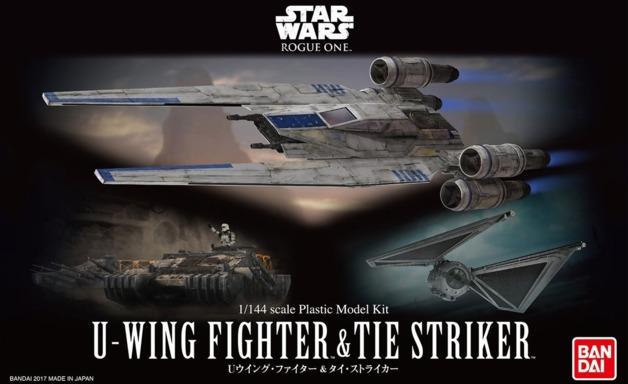 Star Wars: 1/144 U-Wing Fighter & TIE Striker - Model Kit