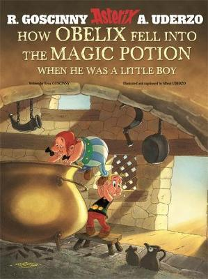 How Obelix Fell into the Magic Potion by Rene Goscinny image