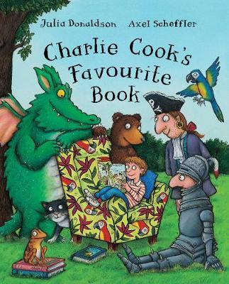 Charlie Cook's Favourite Book by Julia Donaldson image
