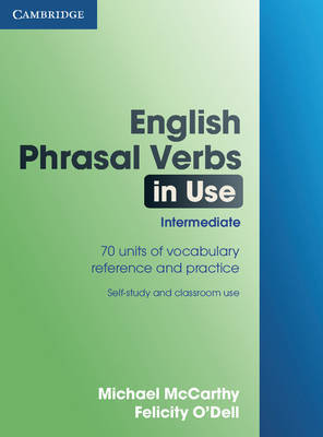 English Phrasal Verbs in Use Intermediate by Michael McCarthy image