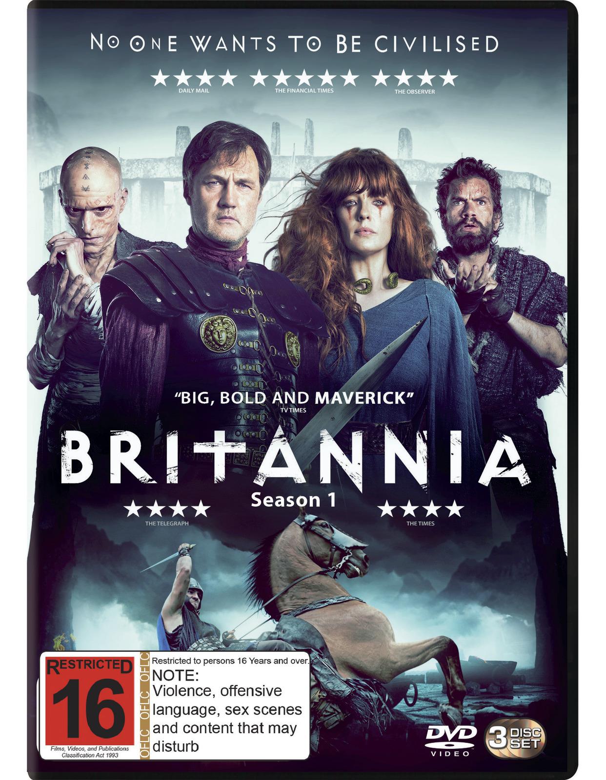 Britannia - The Complete Season One on DVD image