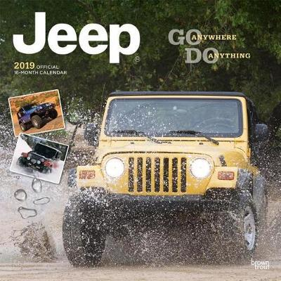 Jeep 2019 Square by Inc Browntrout Publishers image