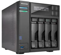 Asustor: AS-6404T 4 Bay Celeron 2.09GHz Quad Core 8G RAM NAS 3Yr Wty