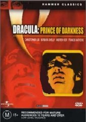 Dracula - Prince Of Darkness on DVD
