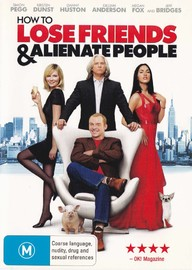 How To Lose Friends & Alienate People on DVD