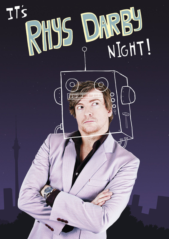 Rhys Darby - It's Rhys Darby Night! on DVD
