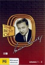 Graham Kennedy - The Best Of: Vol. 1-3 (3 Disc Box Set) on DVD