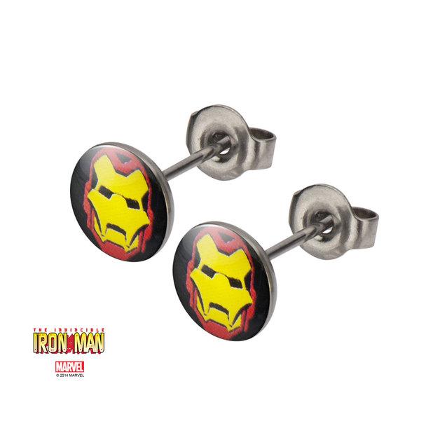 Marvel: Iron Man Symbol Stud Earrings