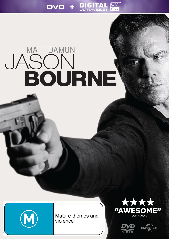 Jason Bourne on DVD image