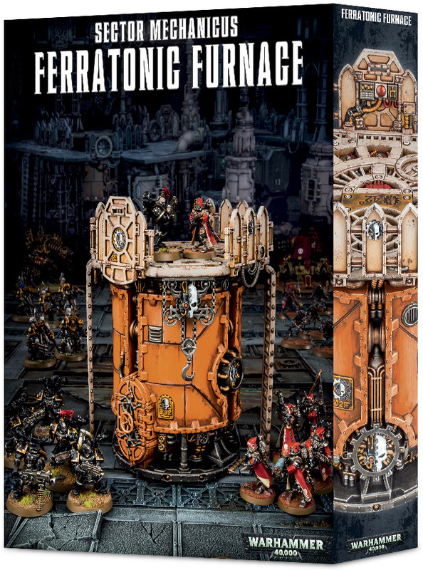 Warhammer 40,000 Sector Mechanicus: Ferratonic Furnace