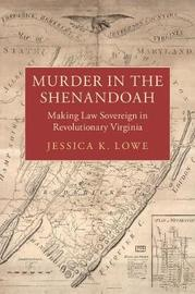 Studies in Legal History by Jessica K. Lowe