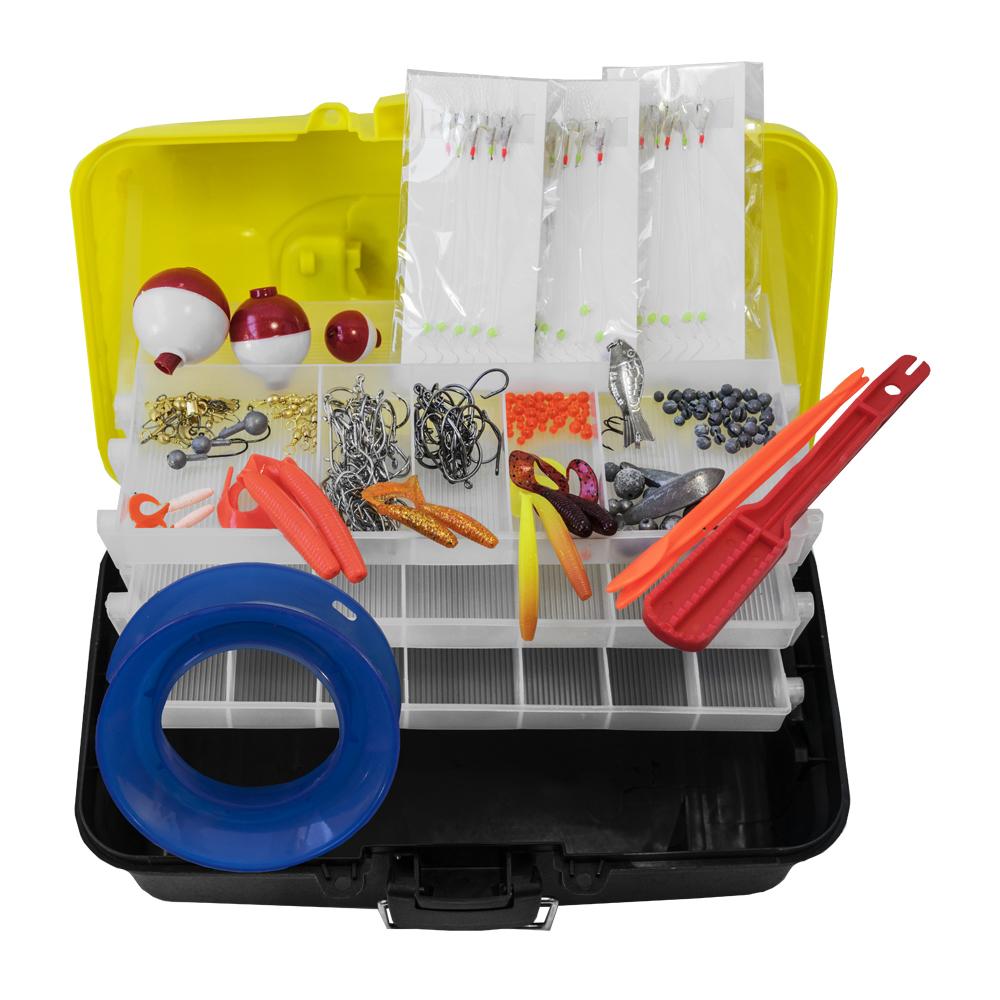Pro Hunter 500 Piece Fishing Tackle Kit image
