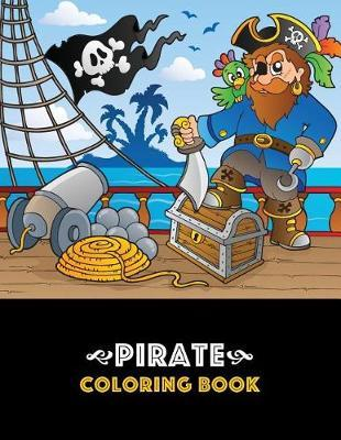 Pirate Coloring Book by Art Therapy Coloring