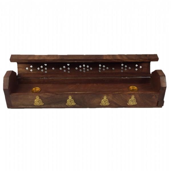 "Buddha 12"" Incense Box"