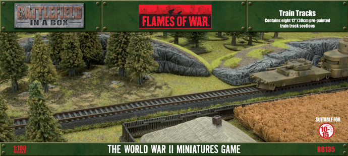 Flames of War - Train Tracks image