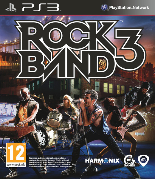 Rock Band 3 (Game Only) for PS3