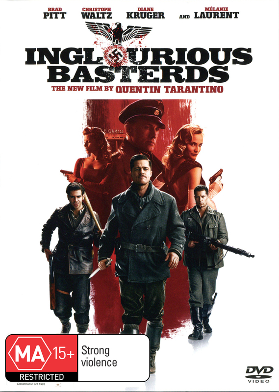 Inglourious Basterds on DVD