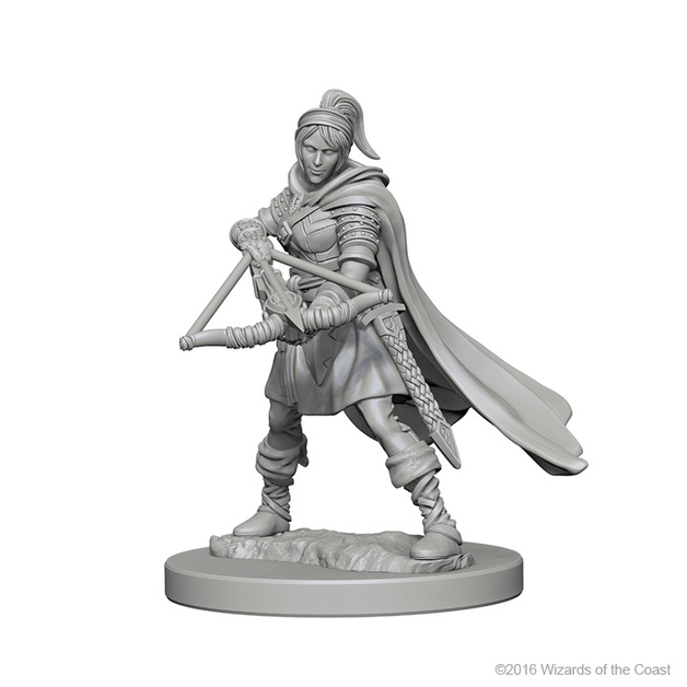 D&D Nolzur's Marvelous: Unpainted Minis - Human Female Ranger