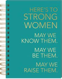 Lady Jayne: Spiral Bound Notebook - Strong Women
