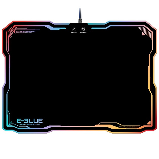 E-Blue RGB Glowing Mousepad for PC