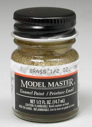 Testors: Enamel Paint - Brass (Flat) image