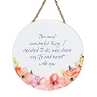 Empowerment Hanging Sign - Love