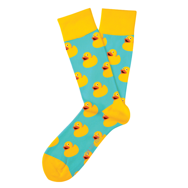 Two Left Feet: Sitting Duck Everyday Socks - Small