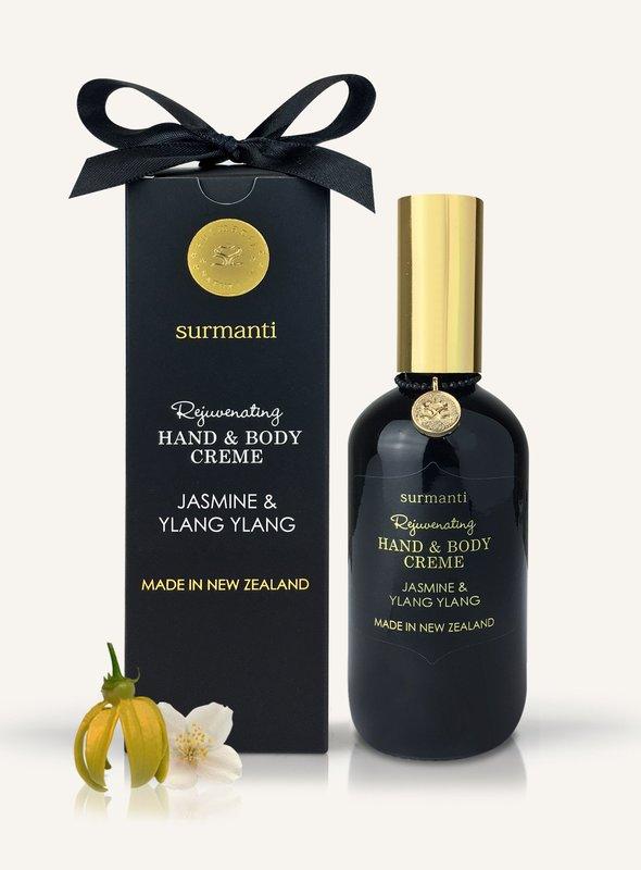 Surmanti Hand + Body Creme - Jasmine and Ylang Ylang