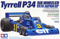 Tamiya Tyrrell P34 1976 Japan GP with Photo Etched Parts 1:20 Kitset Model