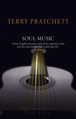 Soul Music (Discworld - Death / The Wizards) (black cover) by Terry Pratchett