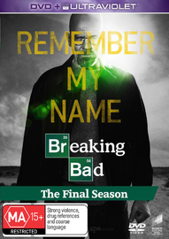 Breaking Bad - The Final Season on DVD