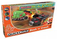 Scalextric Micro Quick Build Bash 'n' Crash 1/64 Slot Cars Set image