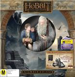 The Hobbit: The Battle of Five Armies - Extended Edition with Statue on Blu-ray, 3D Blu-ray, UV