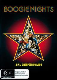Boogie Nights on DVD image