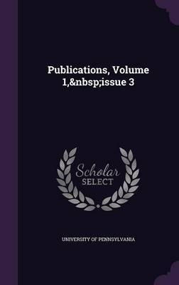 Publications, Volume 1, Issue 3 image