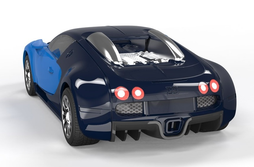 Airfix Quick Build Bugatti Veyron Model Kit At Mighty Ape Nz