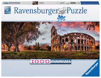 Ravensburger: Sunset Colosseum - 1000pc Panorama Puzzle