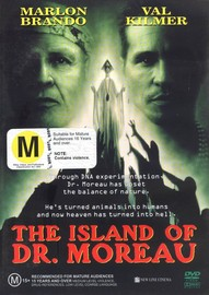 The Island Of Dr Moreau on DVD image