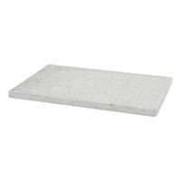 Terrazzo Stone serveboard - Rectangle (Grey)
