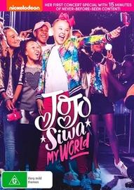 Jojo Siwa: My World on DVD