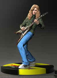 """Rock Iconz: Dave Mustaine (Megadeth) - 8.5"""" Statue"""
