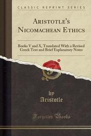 Aristotle's Nicomachean Ethics by Aristotle Aristotle image