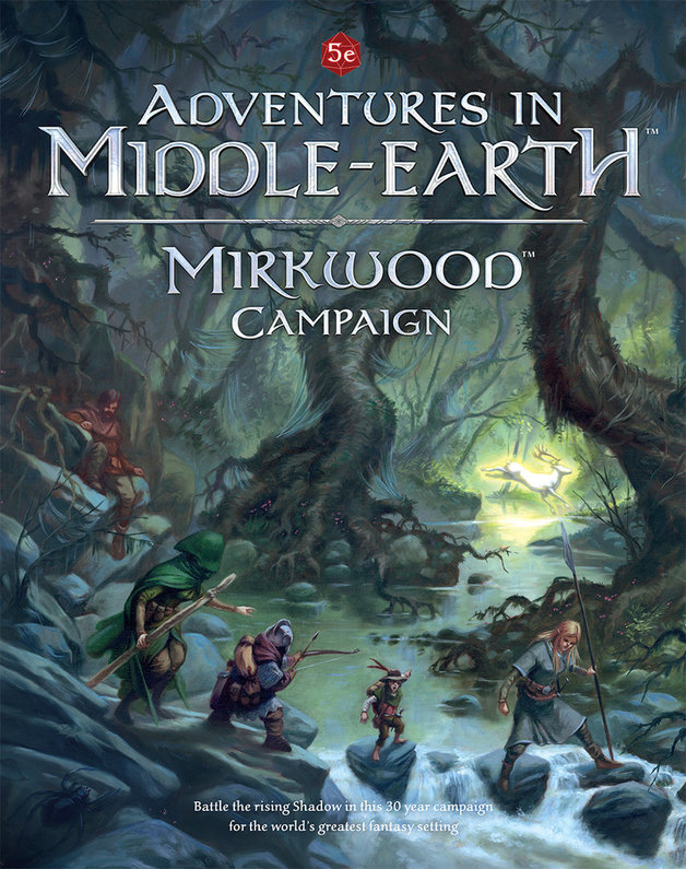 D&D RPG: Adventures in Middle-Earth - Mirkwood Campaign
